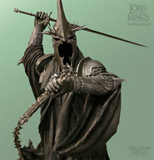 LOTR~THE MORGUL LORD~WITCH-KING~STATUE~LE 9500~SIDESHOW~WETA~MIB