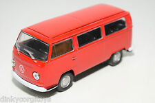 WELLY NEX VW VOLKSWAGEN TRANSPORTER T2 BUS VAN RED VERY NEAR MINT CONDITION