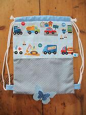 Kinderrucksack * Rucksackbeutel * Turnbeutel * Kindergarten * Autos/Feuerwehr