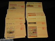 India 2002-12 255 diff Meghdoot Post Cards Gandhi Aids Malaria Cancer Health