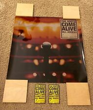 """MEGA RARE! THE ROOTS """"COME ALIVE"""" LIGHTBOX POSTER PROMO PACK! 1999! (QUESTLOVE)"""