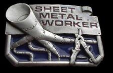 BELT BUCKLE SHEET METAL WORKERS TOOLS WORK TRADE PROFESSIONS BOUCLE DE CEINTURE
