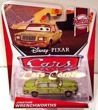Disney Pixar Cars Jonathan Wrenchworths - der treue Fan von McQueen - NEU & OVP