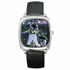 Japanese Idol ICHIRO SUZUKI Super STar leather watch