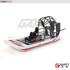 High Speed Remote Control Swamp Dawg Turbo Cruise RC Air Boat Kit W/ Motor Servo