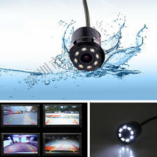 170°Wide Angle Car Rearview Reverse Parking 8 LED Night Vision Camera &Drill Bit