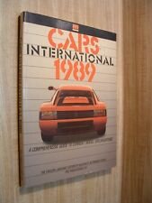 CARS INTERNATIONAL 1989 ~ GUIDE TO CURRENT MODELS ~ HALLWAG'S AUTOMOBILE REVUE
