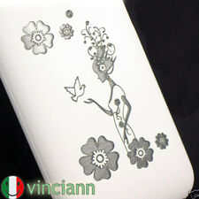 Custodia back cover FATA DEI FIORI x iPhone 3G S bianca