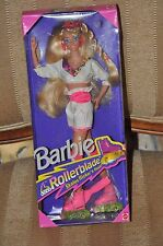 NEW ROLLERBLADE BARBIE DOLL MIB 1991 MATTEL 2214