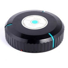 New Home Robotic Smart Automatic Vacuum Cleaner Robot Microfiber Mop Dust Black