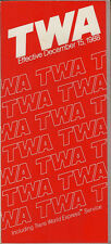 TWA system timetable 12/15/88 [308TW] Buy 2 Get 1 Free