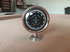 ANTIQUE 1930S-1940S-1950S AIRGUIDE ACCESSORY DASH THERMOMETER HUMID GAUGE  CHEVY