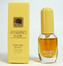 AROMATICS ELIXIR CLINIQUE 4 ML. 0.14 FL.OZ. SPRAY PURE PARFUM 90 % FULL