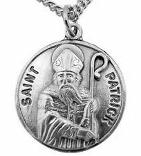 St. Patrick Round Medal Pendant NEW in Gift Box from CREED SKU SO827-41