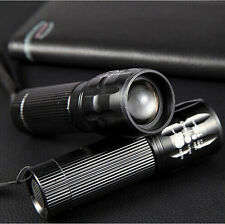New Bright Torch Zoomable LED Flashlight Torch outdoor lighting