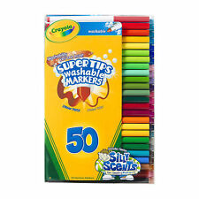 Crayola Super-Tips Washable Markers - 50-Piece Set