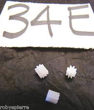 Ingranaggi ingranaggio pezzi di ricambio modellismo meccanismi in plastica 34E