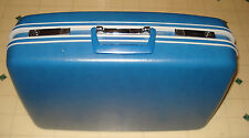 ~~Vintage Samsonite Sentry -Blue- hard shell Suitcase Luggage ~~Must See~~