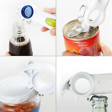 6 in 1 Can Bottle Jar Lid Opener 6 Way Opener Manual Kitchen Tool