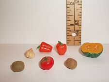 RE-MENT DOLL MINIATURE 1/6 LITTLES PEPPERS FRUIT FOOD LOT ACCESSORY RETIRED