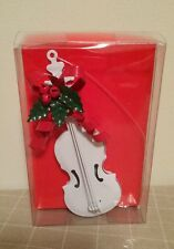 Department 56 Cello Ornament Holiday Music Instrument #6422-0