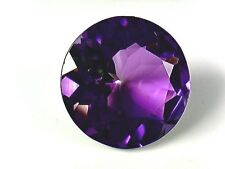 AAA Grade Natural African Amethyst - 17 mm Round - VVS+ See Video!
