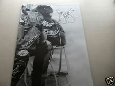 "*SIGNED* A2 poster print - John McGuinness ""head in hands"" - isle of man TT"