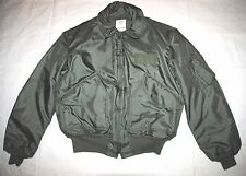 USAF GREEN NOMEX FIRE RESISTANT COLD WEATHER FLYERS JACKET CWU-45/P - X-LARGE