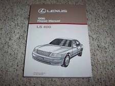 1996 Lexus LS400 Factory Shop Service Repair Manual 4.0L V8