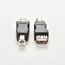 Double USB Type A Female to USB Type B Male Adapter Conector printer  SH