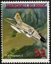 US Navy McDONNELL DOUGLAS F-4 PHANTOM II Jet Aircraft Airplane Stamp (1998)