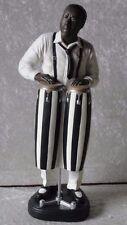 Trommler Figur Groß Jazz Skulptur Jazzfigur Afrika Musik Deko Trommelspieler 31