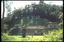 090039 Stela en Plaza Bonampak ruinas mayas A4 Foto Impresión