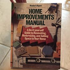 Home Improvements Manual by Reader's Digest (Copyrt 1984, hardcover.) store#5840