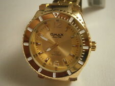 OMAX  WATCH FOR MEN - GOLD COLOUR