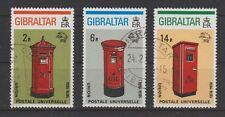 v1020 Gibraltar/ UPU - Briefkästen   MiNr 310/12 o
