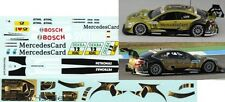 1/43 DECAL MERCEDES BENZ CLASSE C Coupe DTM 'mercedescard' DTM finale 2012
