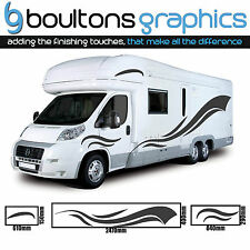 2.5M MOTORHOME STRIPES -Camper Van Horsebox RV Sticker Caravan Decal Graphic SS5