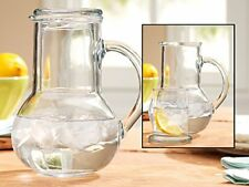 Palais Glass Carafe Set - Bedside Night Carafe 33.25 Oz with Tumbler Glass New