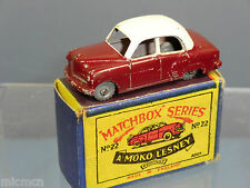 MATCHBOX MOKO LESNEY MODEL No.22a VAUXHALL CRESTA  VN MIB ( Lot 3)