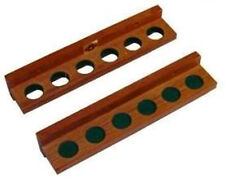 Cue Rack( For Wall ) Pool Billiards Holds 6 cues Q Holder FREE SHIP Free Spots
