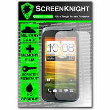Screenknight HTC Desire X FRONT SCREEN PROTECTOR invisible Military Grade shield