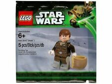 LEGO Star Wars Han Solo (Hoth) Minifigure Polybag New/Sealed!! 5001621 Retired!!
