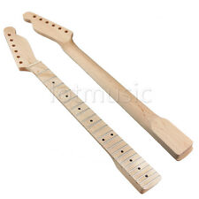 Electric Guitar Neck Maple Wood 22 Frets For TL Assembly Parts Replacement