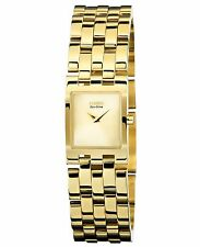 Citizen Eco-Drive Women's EX1302-56P Jolie Rectangle Gold Tone Bracelet Watch