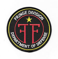 Fringe TV Series FF Department of Defense Logo 3.75 Embroidered Patch NEW UNUSED