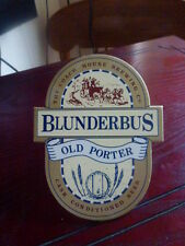 "COACH HOUSE BREWING "" BLUNDERBUS OLD PORTER ""  PUMP CLIP FRONT"