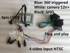 Mercedes Benz C Class W204 NTG4.5 iPas Parking Camera Interface Front/Back view