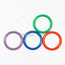 5 Penis Ring Set Rainbow Silicone, Penis Ring, Impotence, Erection Aid