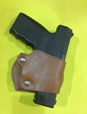 Leather YAQUI Style Holster -  WALTHER PPS  (#047 BRN)